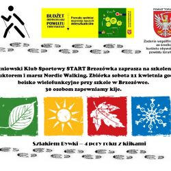 Plakat dot. Nordic Walking